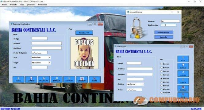 Sistema de Gestion y Control de Empresa de Transportes