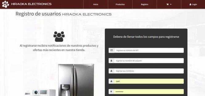 Sistema Web para Tienda Comercial