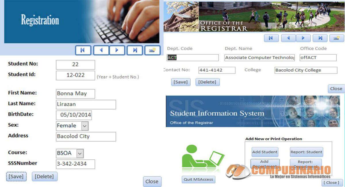 Sistema de Control de Registro Estudiantil