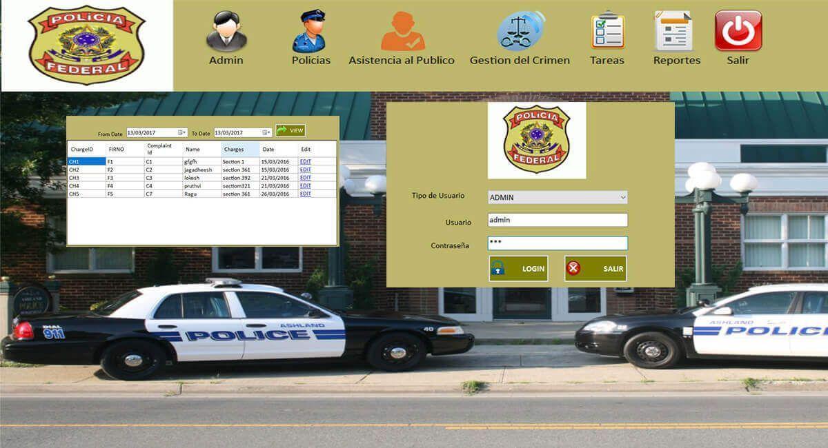 Sistema de Gesion de una Comiseria Policial