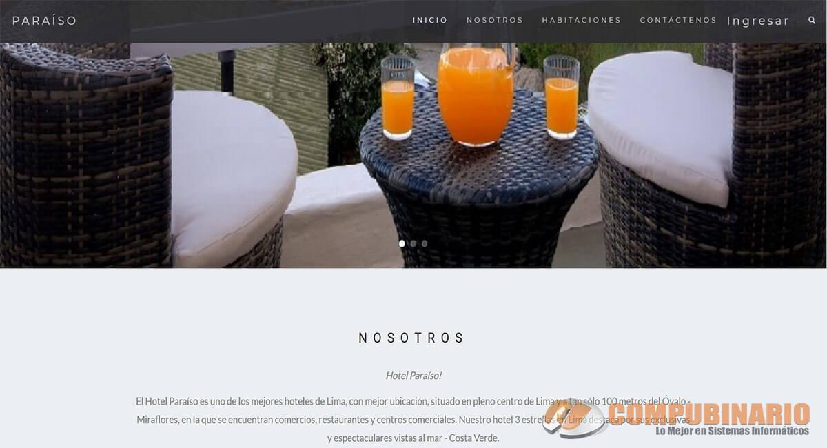 Sistema Web de Gestion de Hotel