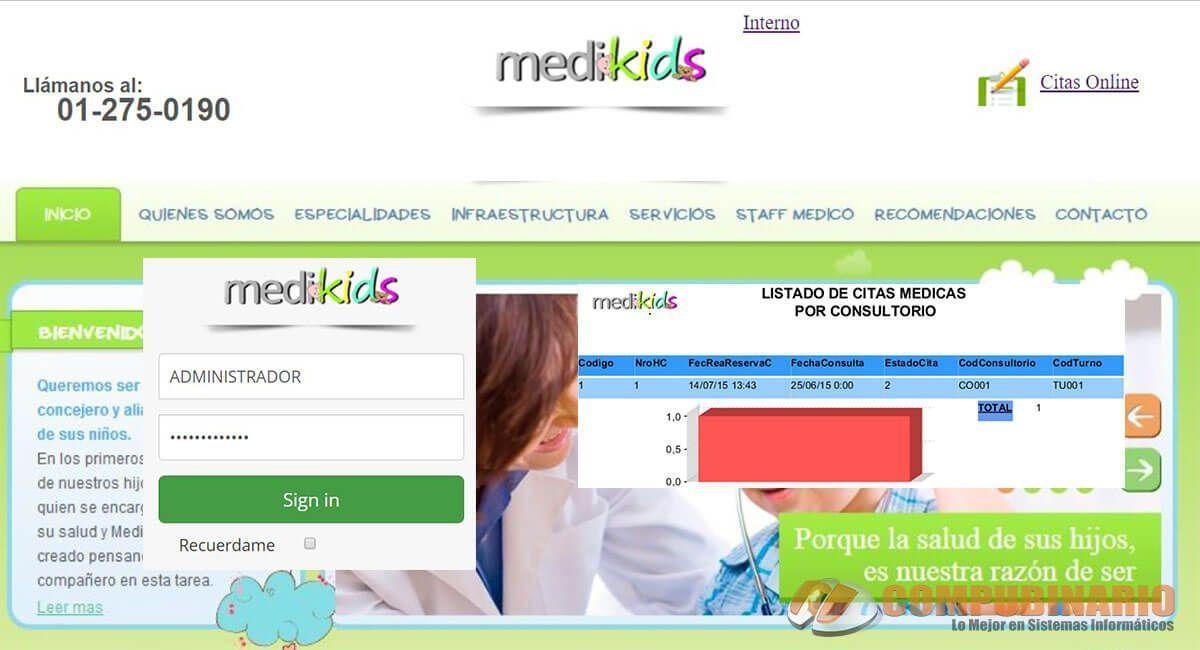 Sistema de Control de Clinica Pediatrica