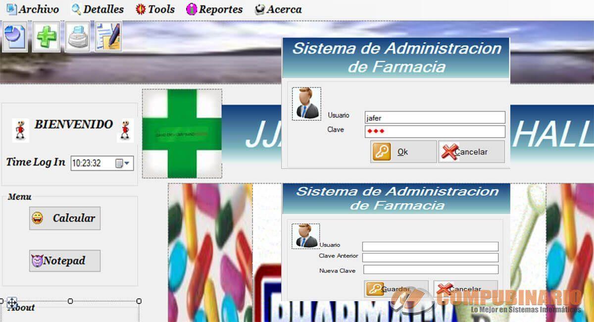 Sistema de Administracion de Farmacia