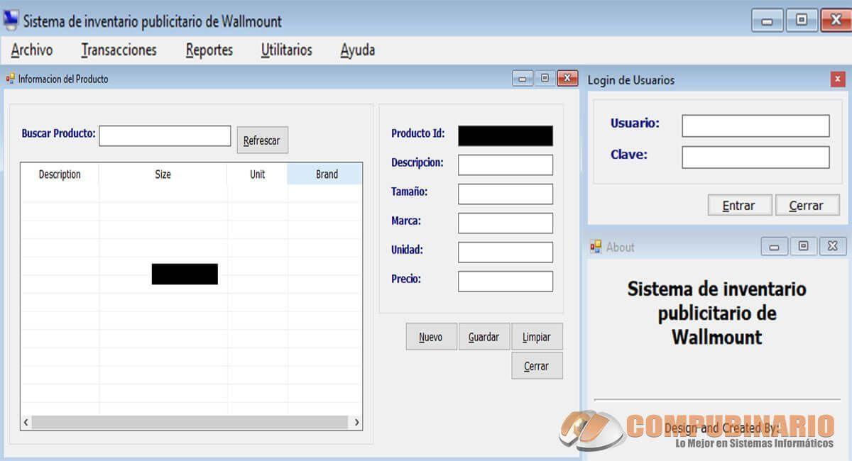 Sistema de Inventario Publicitario de Wallmount