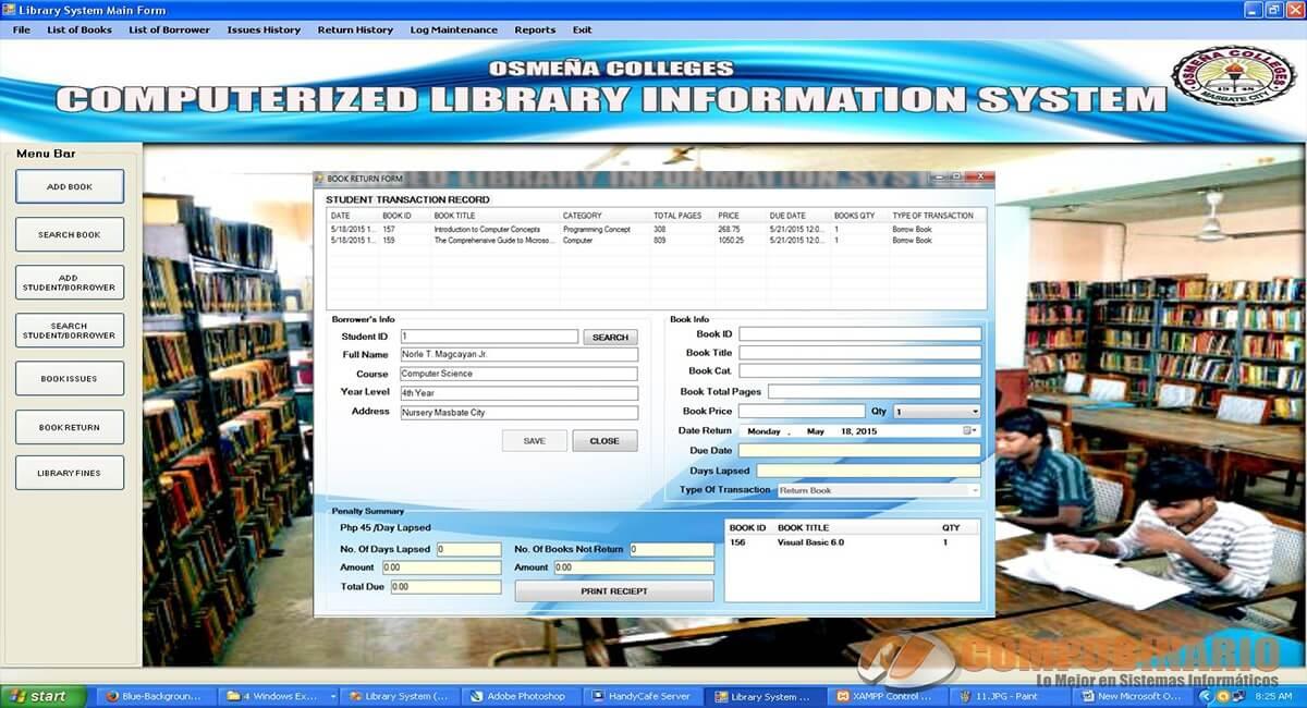 Sistema de Informacion de una Biblioteca