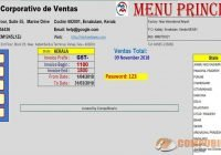 Sistema de Ventas y Facturación con Reportes en Excel