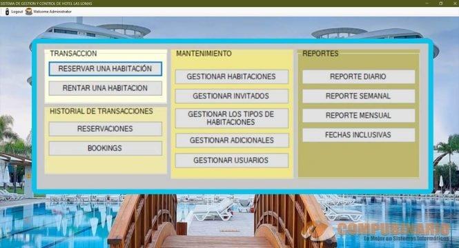 Sistema de Gestion y Control de Hotel