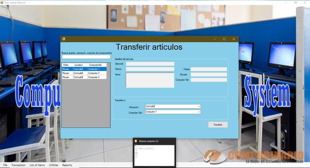 Sistema de Monitoreo de Equipos Informáticos