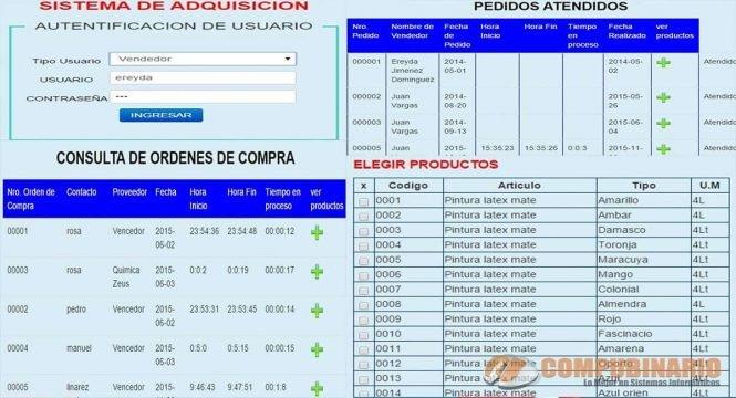 Sistema Web de Compras y Ventas