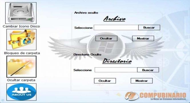Sistema para Bloquear y Desbloquear Directorios o Archivos