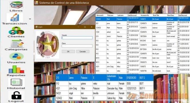 Sistema de Control de una Biblioteca