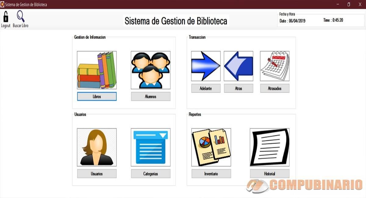 Sistema de Gestión de Bibliotecas