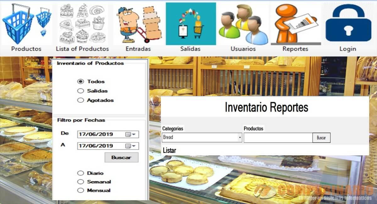 Sistema de Inventarios de Panaderia