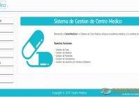 Sistema de Gestión de Centro Medico