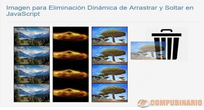 Imagen para Eliminación Dinámica de Arrastrar y Soltar en JavaScript