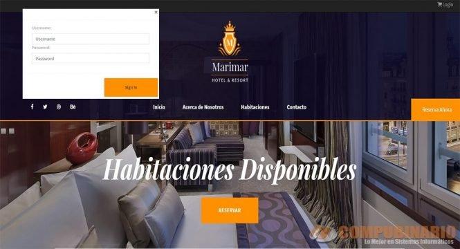 Sistema Web de Reserva de Hotel