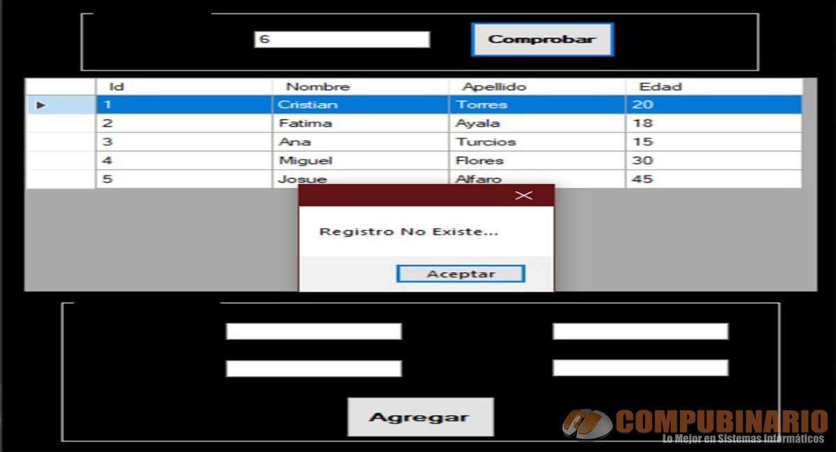 Sistema de Ingreso de Registros