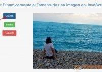 Ajustar Dinámicamente el Tamaño de una Imagen en JavaScript