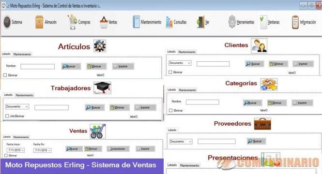 Sistema de Administracion de Compras y Ventas