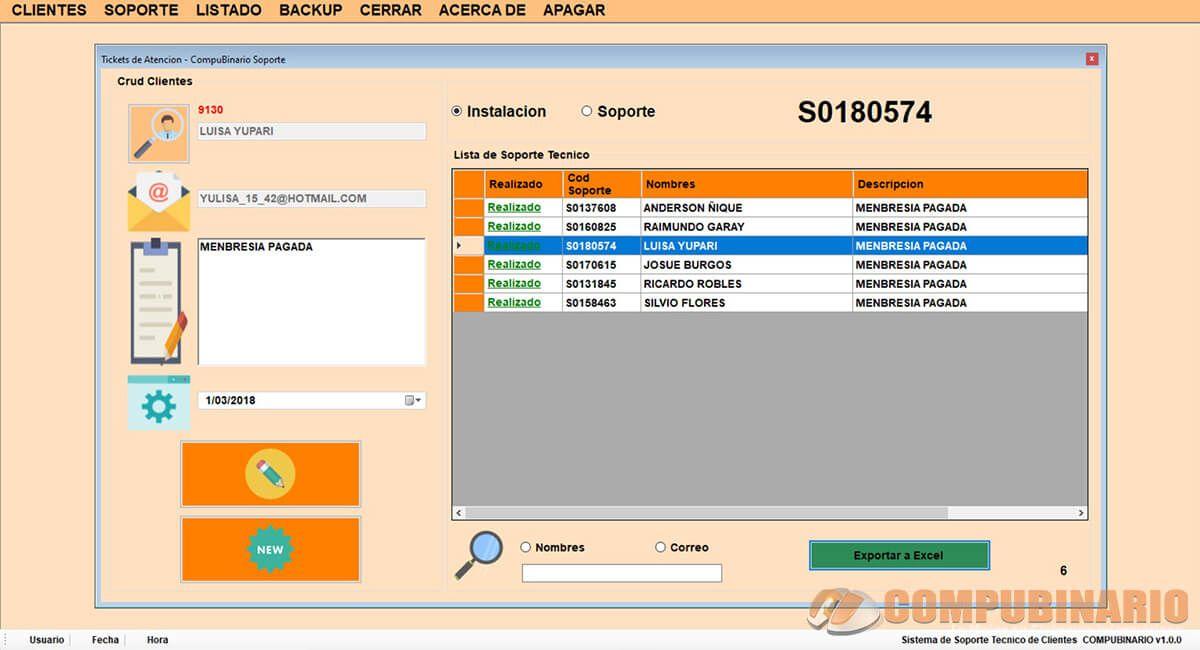 Sistema de Gestión de Tickets de Atención al Cliente
