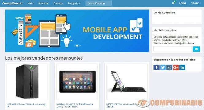 Sistema Web para Comercio Electrónico