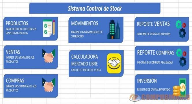 Sistema de Control de Stock en Excel
