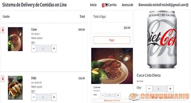 Sistema de Delivery de Comidas on Line