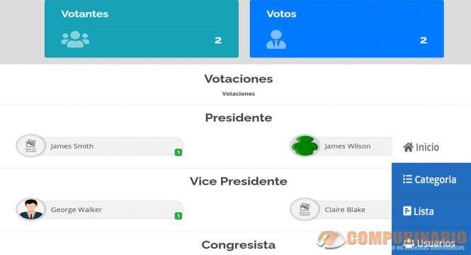 Sistema de Votación en Línea