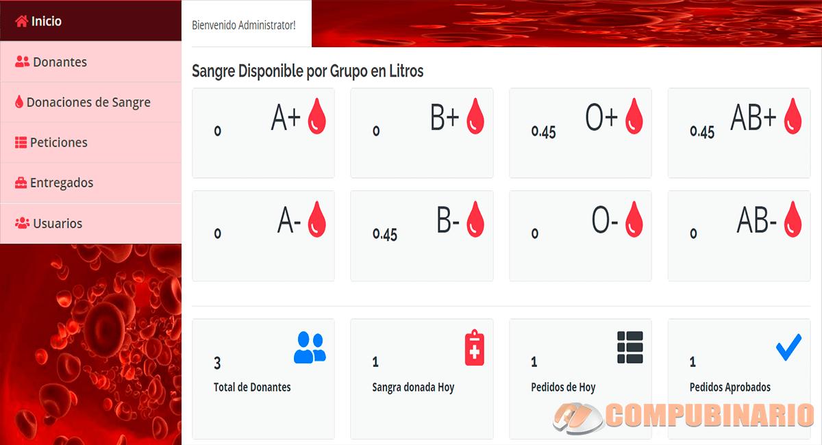 Sistema de Control de Banco de Sangre