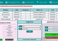 Sistema de Gestion de Envio de Examenes en Linea