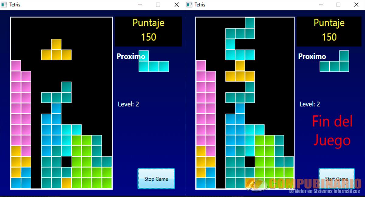 Tetris en C Sharp