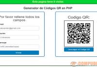 Generador de Códigos QR en PHP