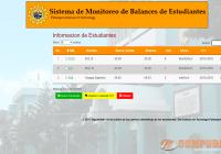 Sistema de Monitoreo de Balances de Estudiantes