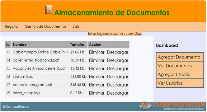 Sistema de Control de Documentos
