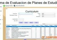 Sistema de Evaluacion de Planes de Estudios