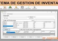 sistema de administracion de inventario